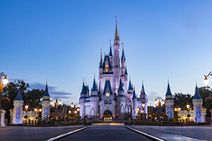 6-Day Disney Theme Park Ticket with Park Hopper® Plus Option