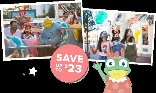 Disneyland® save $23