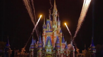 Happily Ever After Fireworks Show, Magic Kingdom Park, Walt Disney World Resort