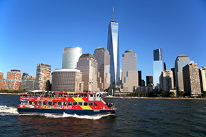 Hop-On Hop-Off Ferry PLUS One World Observatory