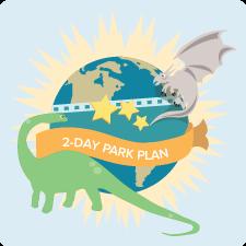 Universal Orlando 2-Day Park-to-Plan Plan