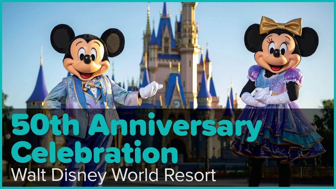 First Peek at Disney World's 50th Anniversary Celebration Video