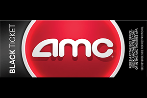 AMC: Black Movie Ticket