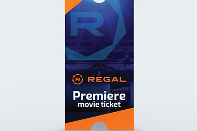 Regal Cinemas: Premiere Print-at-Home Movie E-Ticket