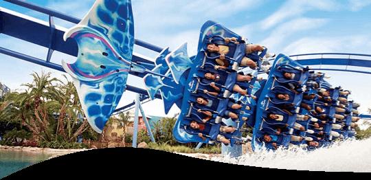 SeaWorld® roller coaster