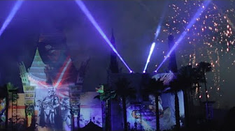 Star Wars: A Galactic Spectacular Fireworks & Projection Show