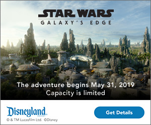 Star Wars: Galaxy's Edge. The adventure begins May 31.