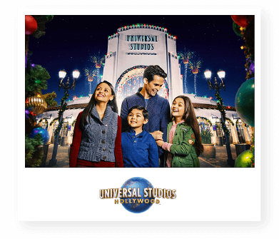 Holiday memories at Univeral Studios Hollywood