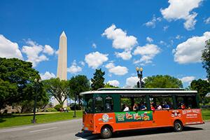 Washington DC Old Town Trolley Tour 1-Day (Silver Pass) Ticket