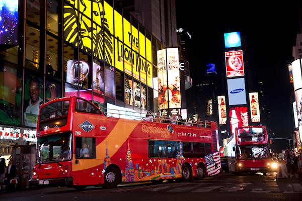 NYC Double Decker Night Tour