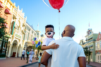 2-Day Disney Theme Park Ticket with Park Hopper® Option