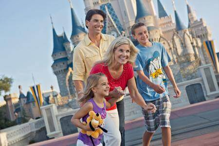 4-Day Disney Theme Park Base Ticket - with Extra Day