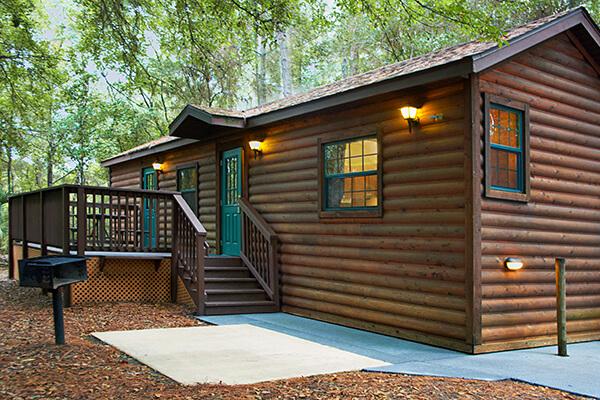 The cabins at disney 39 s fort wilderness resort for Fort wilderness cabins reservations