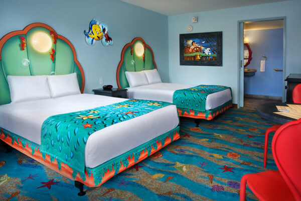 2 Double Beds Florida Special Accessible Room With Option For Hearing Accessibility Sleeps Up To 4 Adults And 1 Child Under 3 Years Old In A Crib