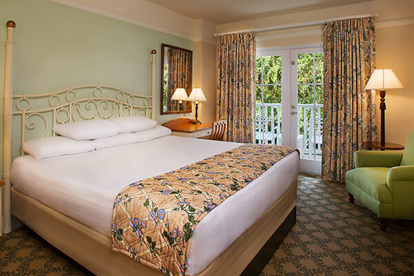 1 King Bed And Queen Size Sleeper Sofa Sleeps Up To 4 S Child Under 3 Years Old In A Crib Views Of Disney Beach Club Resort Woods