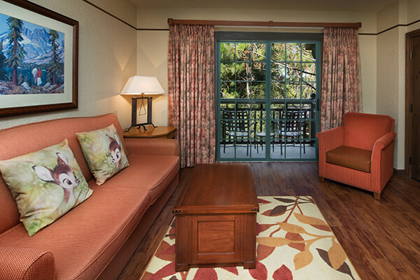 The villas at disney 39 s wilderness lodge walt disney - 2 bedroom villas near disney world ...