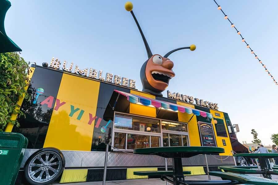 Bumblebee Man's Taco Truck