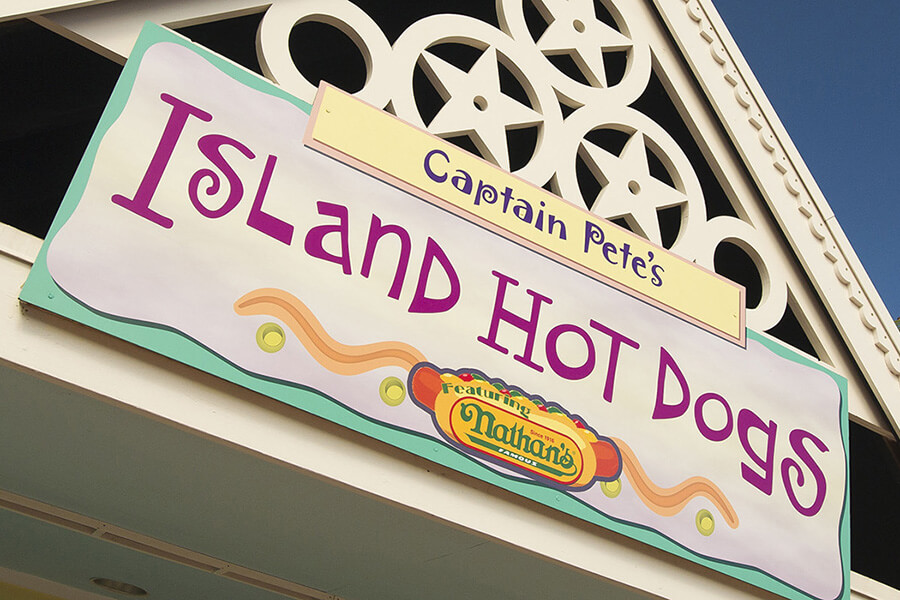 Captain Pete's Island Hot Dogs