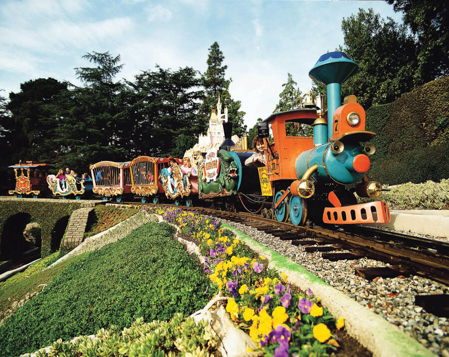 Image result for casey jr circus train disneyland