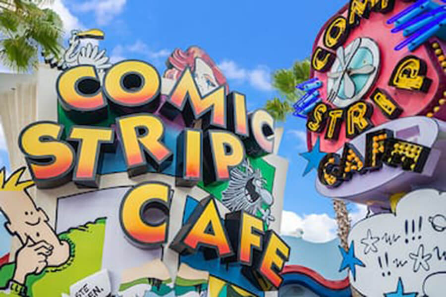 Comic Strip Cafe™