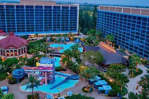 Disneyland Hotel Los Angeles Undercover Tourist