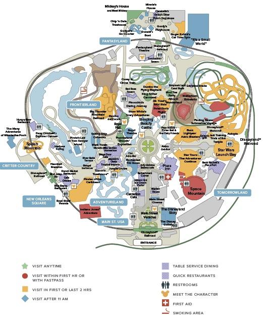 Disneyland® Park Map