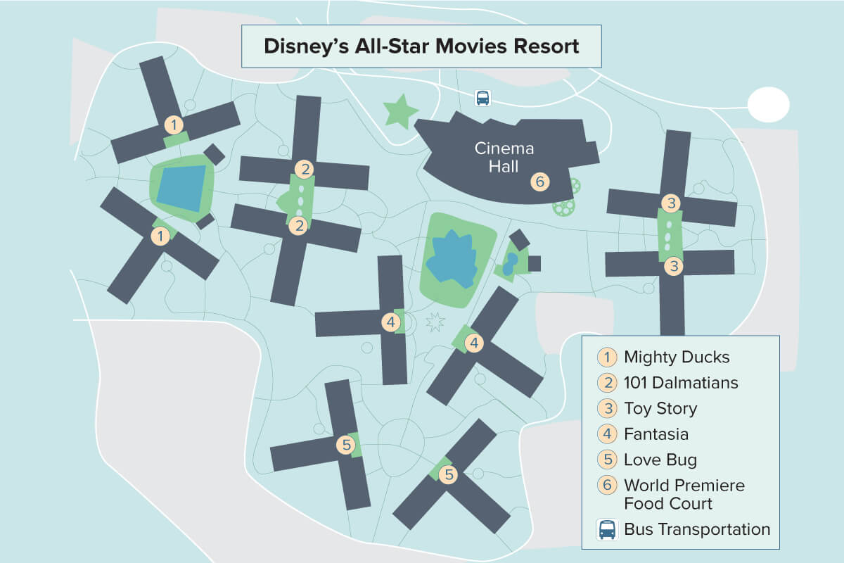 Disney\'s All-Star Movies Resort | Walt Disney World ...