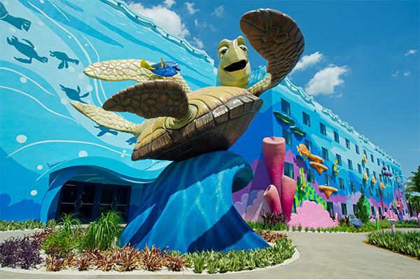 Disneys Art of Animation Resort  Walt Disney World  Undercover