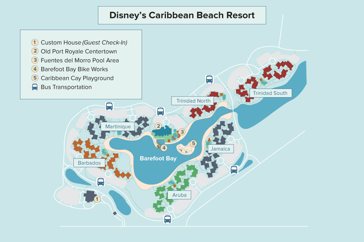 Disney\'s Caribbean Beach Resort | Walt Disney World | Undercover Tourist