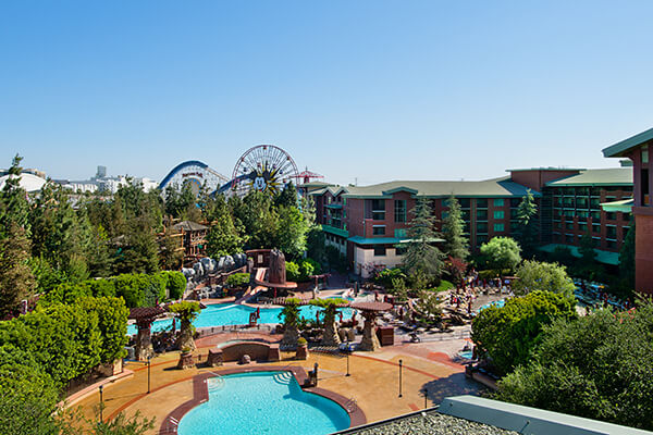 Disney S Grand Californian Hotel Los Angeles