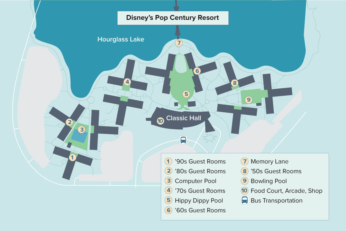 Disney\'s Pop Century Resort | Walt Disney World | Undercover ...