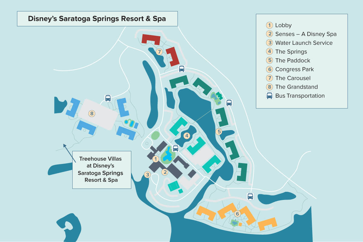 Disney\'s Saratoga Springs Resort & Spa | Walt Disney World ...