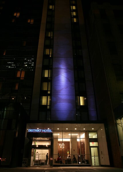 Distrikt Hotel New York New York Area Hotels