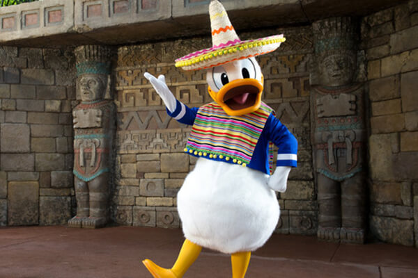 Donald Duck in Mexico