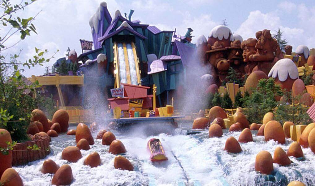 Dudley Do-Right's Ripsaw Falls®