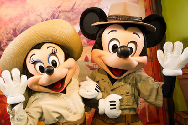 Favorite Disney Pals at Adventurers Outpost