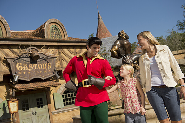 Gaston near His Tavern