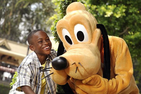 Goofy & Pluto in DinoLand U.S.A.
