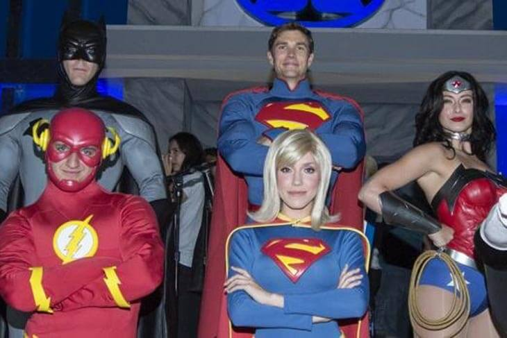JUSTICE LEAGUE Meet & Greets at DC Universe