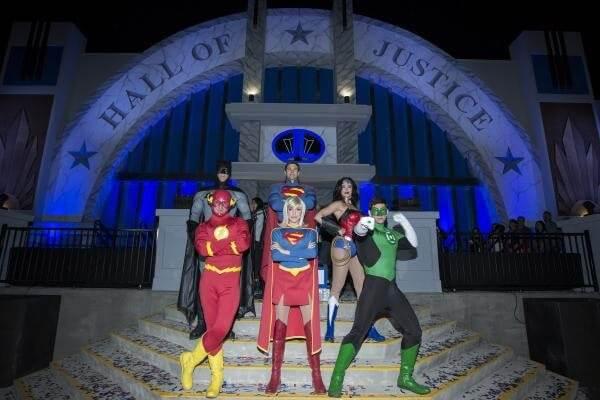 JUSTICE LEAGUE Meet & Greets at Metropolis