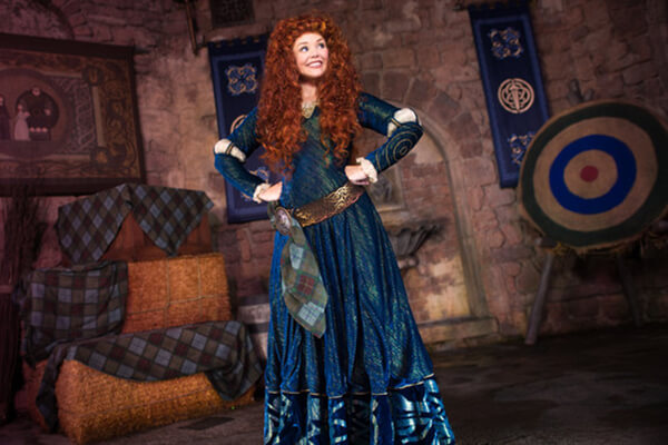 Merida at Fairytale Garden