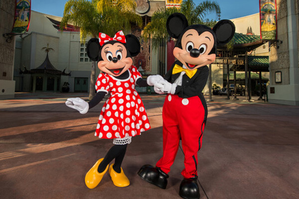 Mickey and Minnie Starring in Red Carpet Dreams