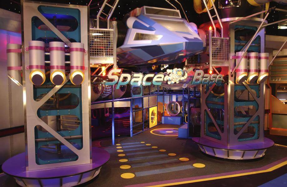 Mission: SPACE® Attraction (Green)