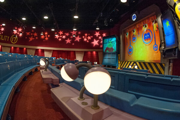 Monsters, Inc. Laugh Floor® Attraction