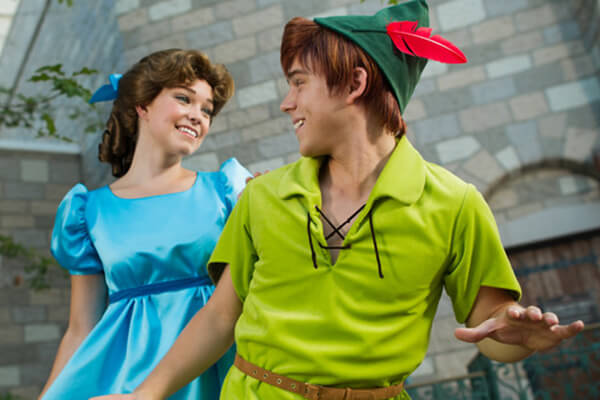 Peter Pan in Fantasyland