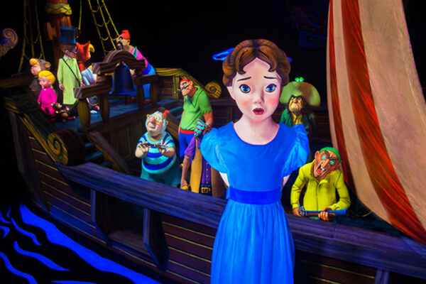 Peter Pan's Flight® Attraction