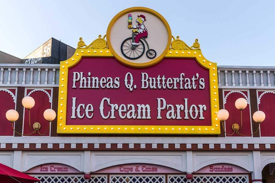 Phineas Q. Butterfat's Ice Cream
