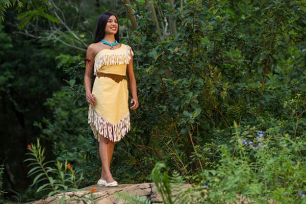 Pocahontas at Character Landing