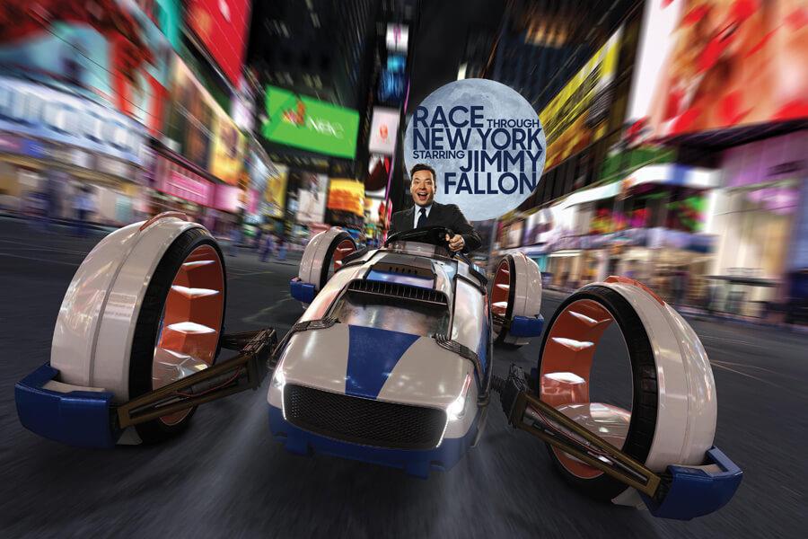 Race Through New York Starring Jimmy Fallon™
