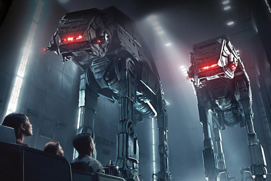 Star Wars: Rise of the Resistance (Virtual queue may be used to ride)